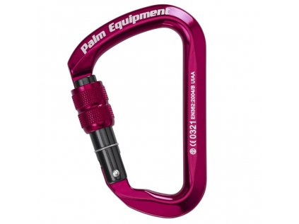 10541 ScrewGate karabiner Red front