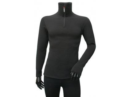 Triko Kwark Power Stretch dlouhý rukáv, zip u krku