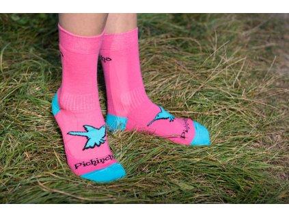 Pichincha wear ponožky růžové