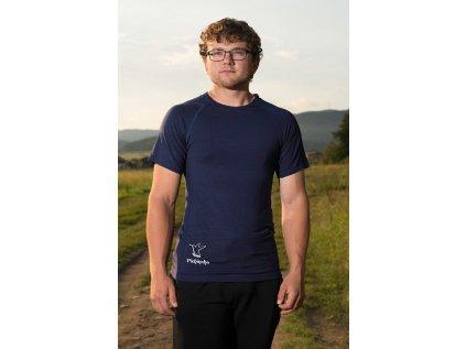 Pichincha vear triko krátký rukáv, tmavě modré