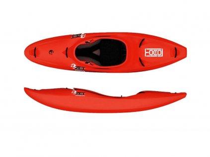 ZET kayaks Toro červené