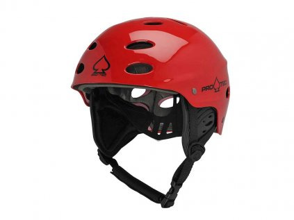 Helma Pro TEC Ace Wake Červená