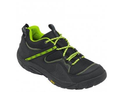 12139 Gradient shoes Black front 3