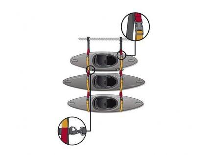 Popruhový regál °hf Express Boat Rack