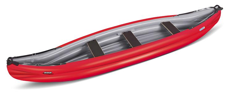 Kanoe Scout Economy Barva: Červená