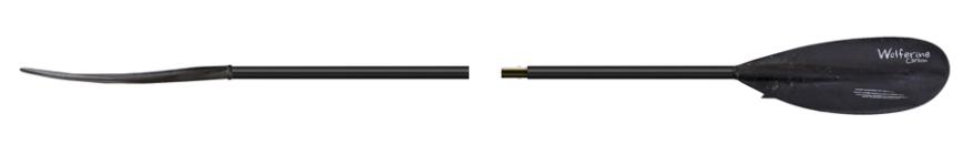 Pádlo 726C.2 Wolferine Carbon dvojdílné Délka: 210 cm