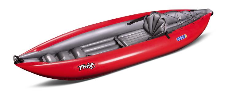 Kajak Twist LN 1 Barva: Červená