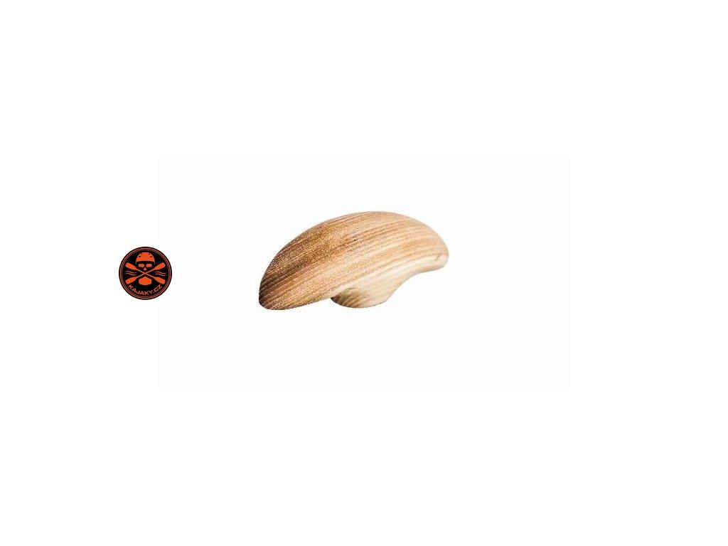 Dřevěná hlavička/hruška k pádlu