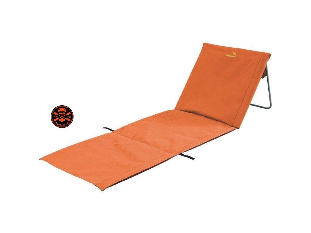 Plážové lehátko Sun oranžové