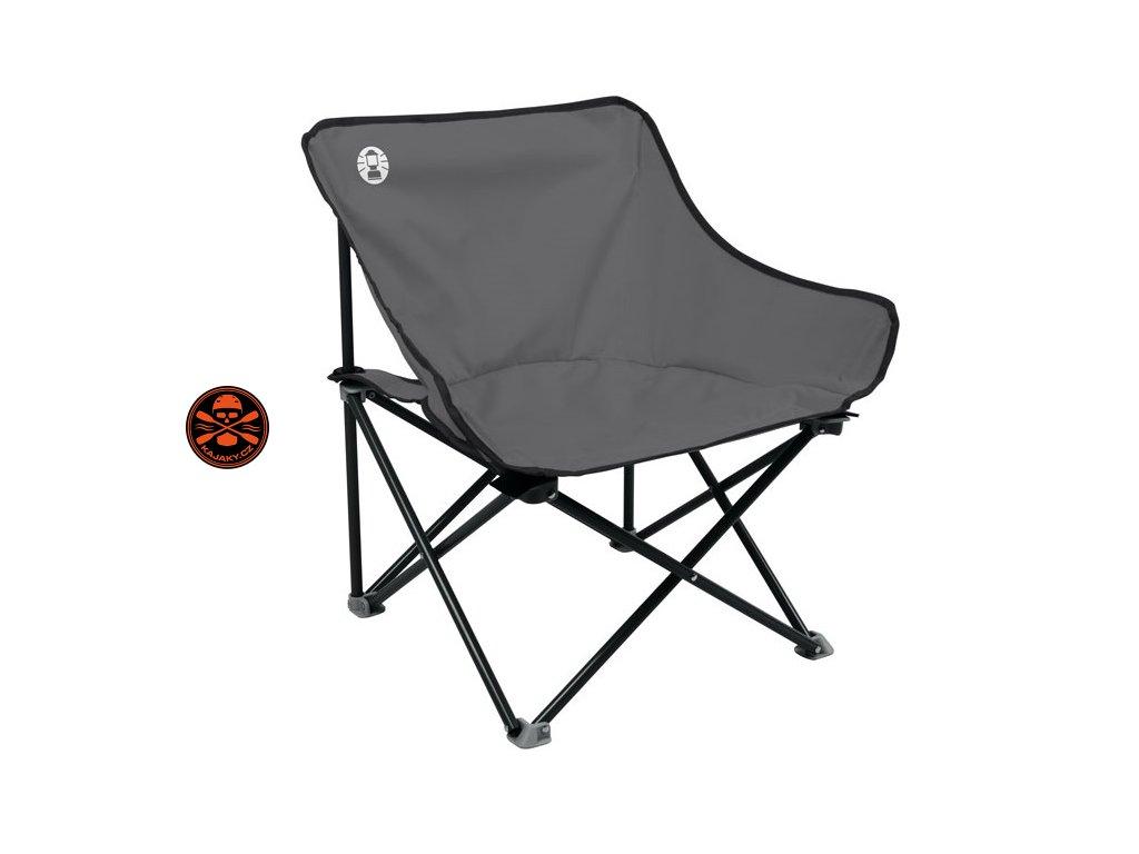 Skládací židle/křeslo Coleman KICK-BACK red