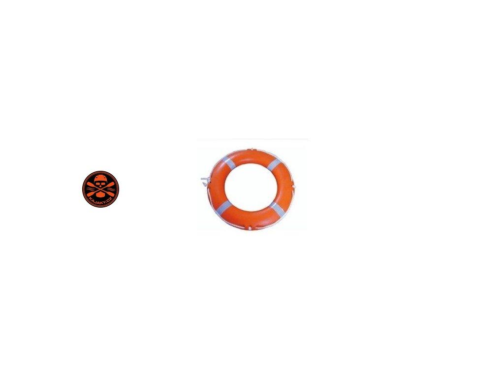 Záchranný kruh Solas 73 cm s lanem 30m