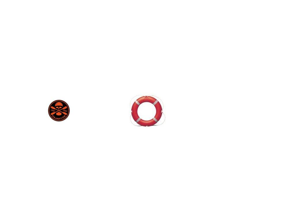 Záchranný kruh Solas pr.:75 cm s lanem