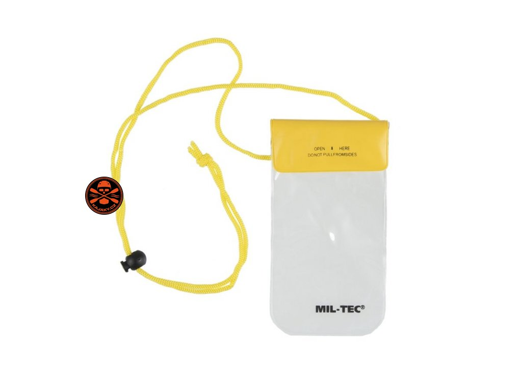 Obal na mobil / doklady vodotěsné na krk 95x195 mm
