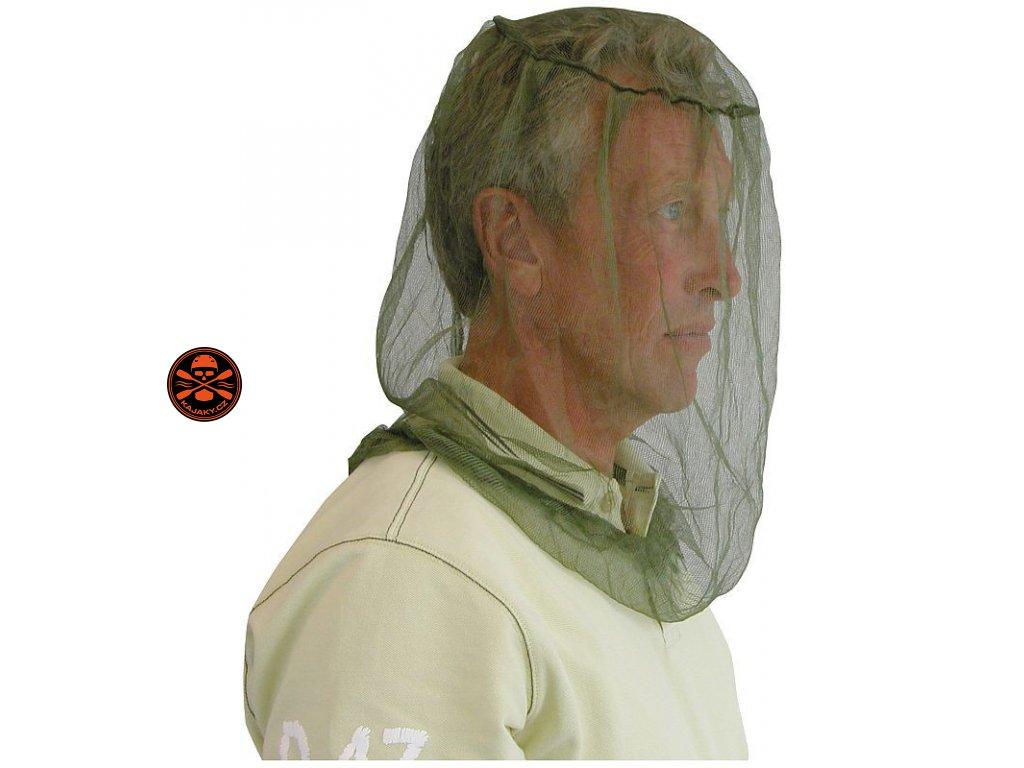 Mini moskytiéra přes hlavu