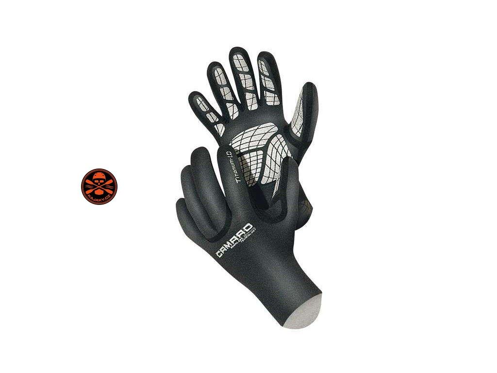 Neoprenové rukavice Camaro Titanium Thermo 1 MM