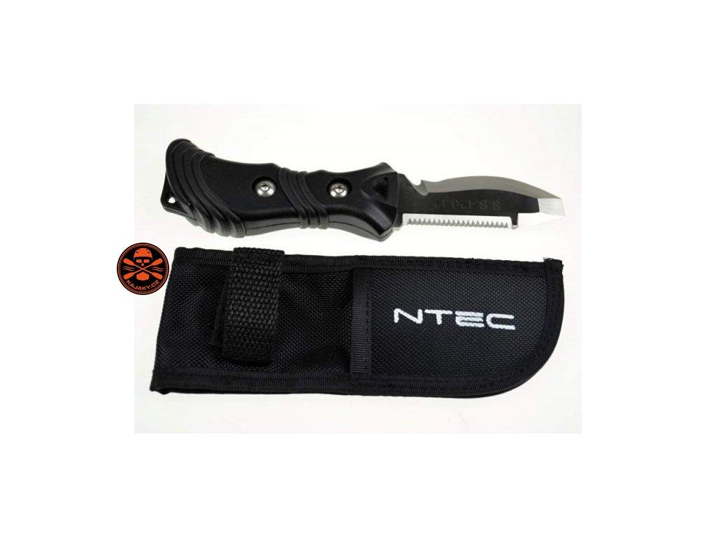 Nůž NTEC malý látkové pouzdro černý