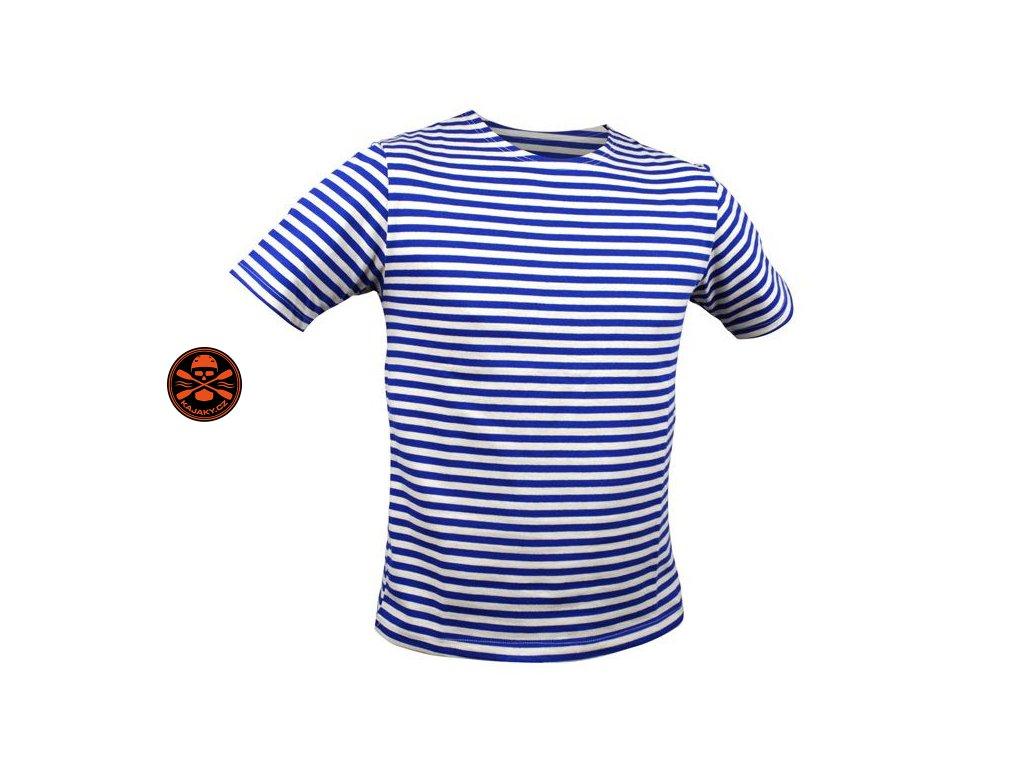 Námořnické pruhované pravé ruské triko světlé KR