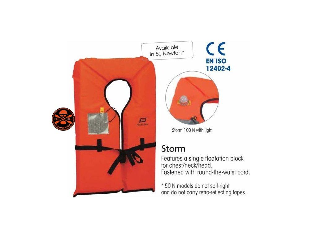 Záchranná vesta -límec Storm 100N