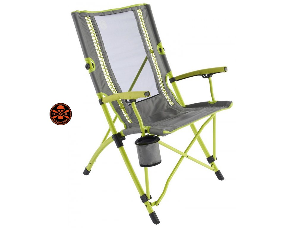 Křeslo Coleman BUNGEE Chair Lime