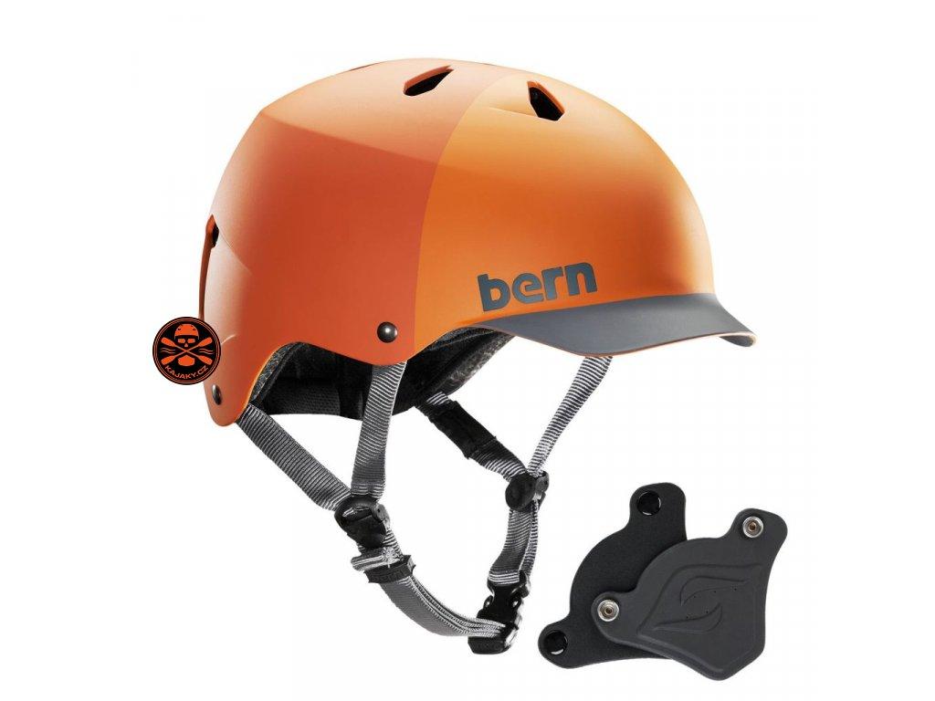Helma Bern WATTS H2O matt orange