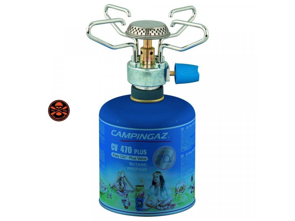 Set Vařič Campingaz BLEUET  MICRO PLUS + kartuše CV 470 plus