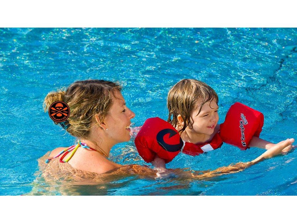 Dětský plavací top  Sevylor PLAVÁČEK Pirát
