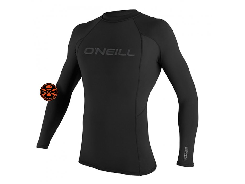 lycra o neill thermo x l s crew black 3