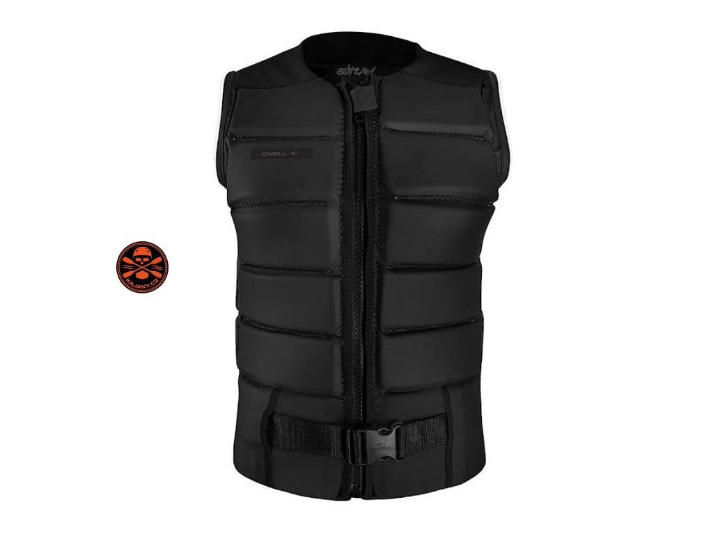 vesta o neill outlaw comp vest black black 5