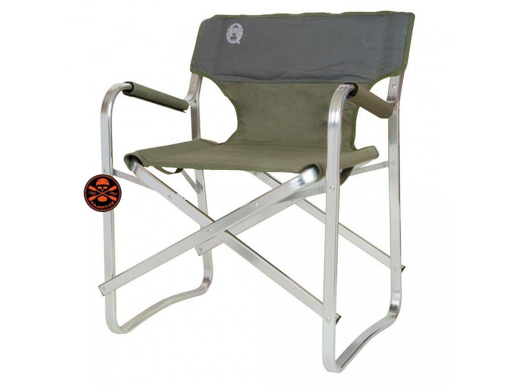 Skládací židle/křeslo Coleman DECK CAHIR zelená