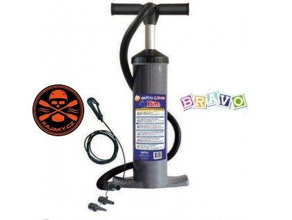 Dvojčinná pumpa Bravo 4 Alu - R.E.D