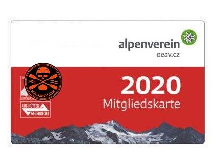 Alpenverein - členství, které sjednáte ihned na naší prodejně