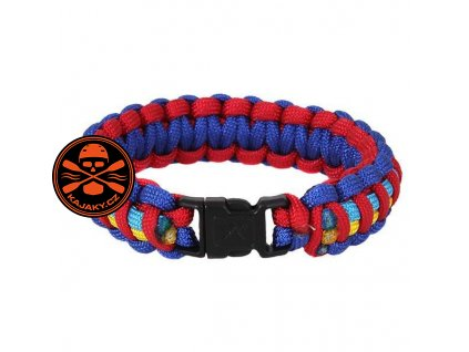 Náramek SURVIVAL PARACORD AUTISM AWARENESS