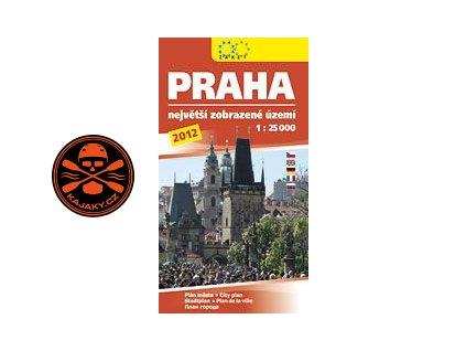 Mapa- Praha 2012