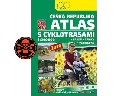 Atlas ČR s cyklotrasami - 1 : 240 000