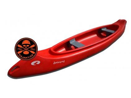 Kanoe plastová Železný SAMBA 4.5 - 3 místná