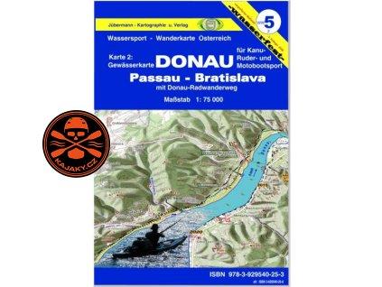 Vodácká mapa Dunaj