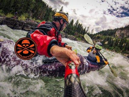 Sjezd na divoké vodě - zážitek