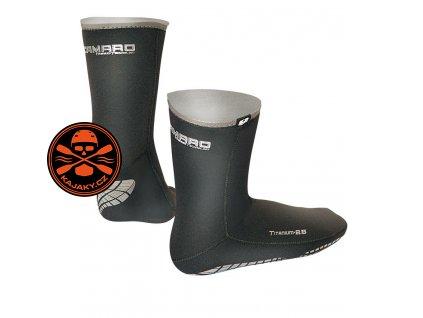 Neoprenové ponožky Camaro TITANIUM 2,5mm