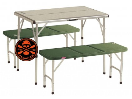 sezení u stolu Coleman PACK AWAY table pro 4 osoby