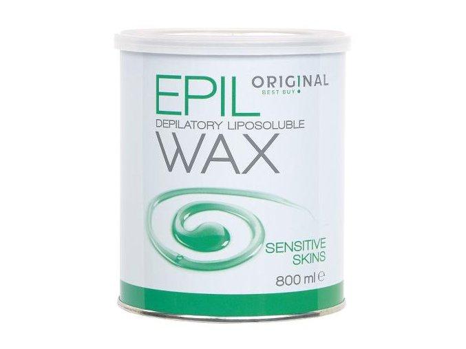 Depilační vosk Epil v plechovce SENSITIVE 800 g