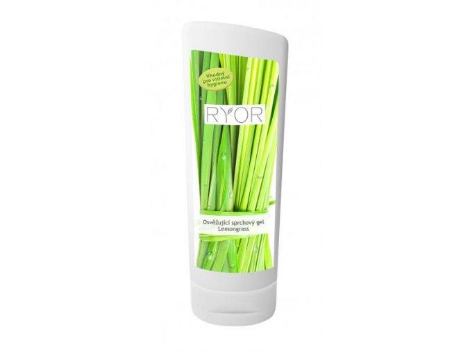 RYOR Osvěžující sprchový gel Lemongrass 200 ml