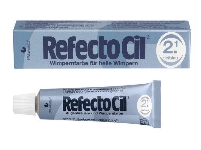 RefectoCil Barva na řasy a obočí 2.1 tmavěmodrá