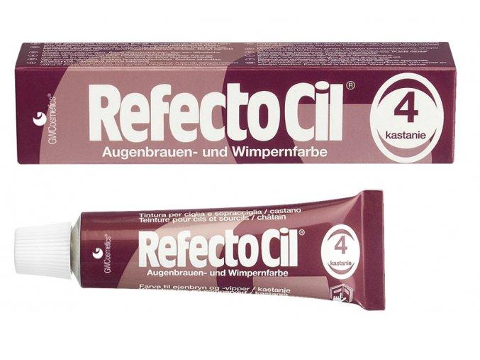 RefectoCil Barva na řasy a obočí 4 kaštan