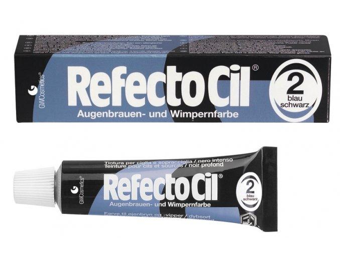 RefectoCil Barva na řasy a obočí 2 modročerná 15 ml