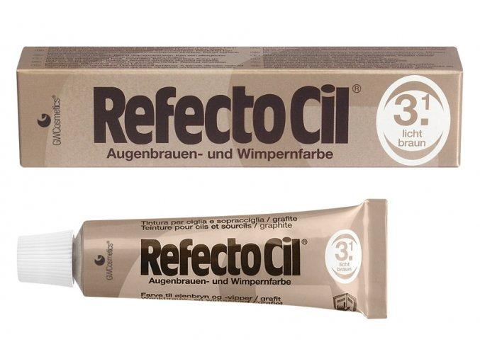 RefectoCil Barva na řasy a obočí 3.1 světlehnědá