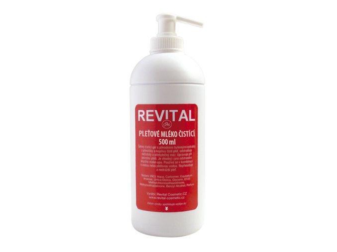 REVITAL Pleťové mléko čistící 500 ml