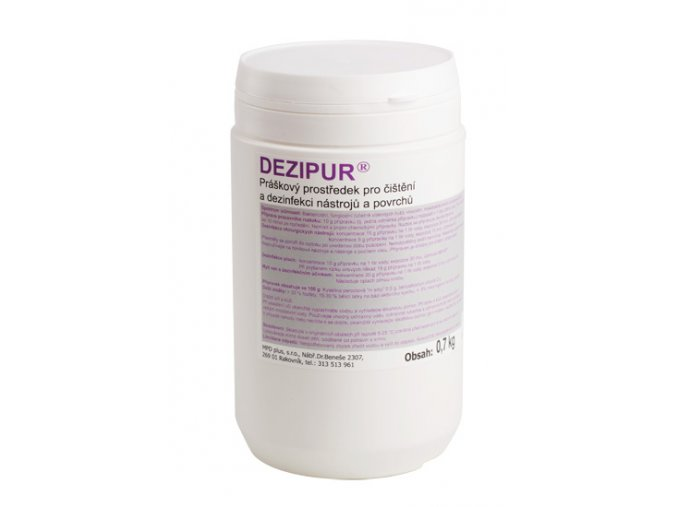 DEZIPUR Dezinfekce na nástroje a plochu práškový 700 g