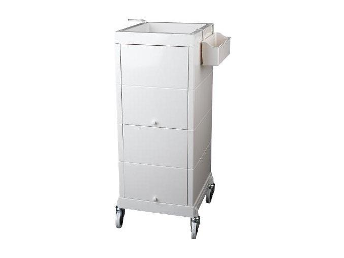 Kosmetický vozík DISCRET bílý