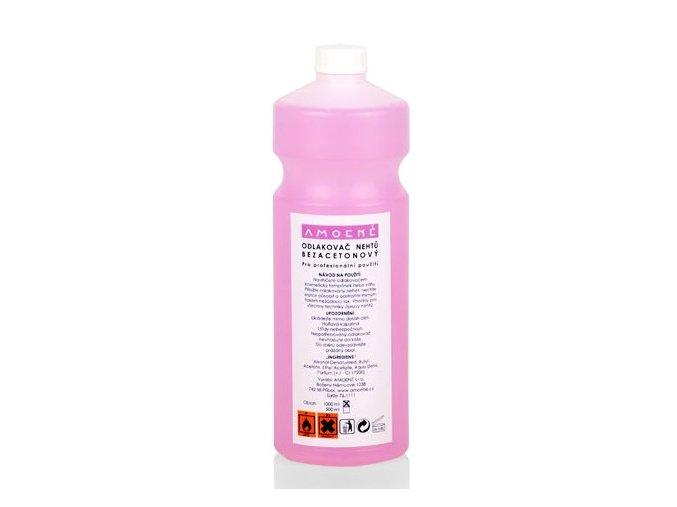 Odlakovač na nehty PROFI růžový 1000 ml