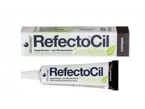 RefectoCil Sensitive Barva na řasy a obočí černá